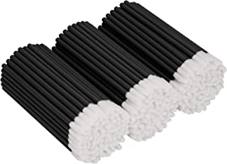 Tifanso 300 PCS Lip Brush, Disposable Makeup Applicators, Lip Gloss Brush Lipstick Applicator Wands, Multicolor Makeup Too...