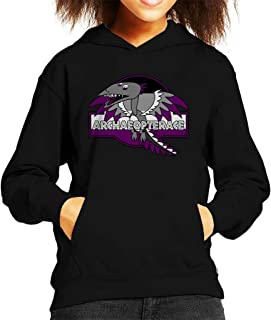 Cloud City 7 Archaeopterace Pride Dinosaur Kid's Hooded Sweatshirt