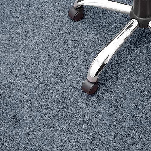 Floori® Nadelfilz Teppich, GUT-Siegel, Emissions- & geruchsfrei, wasserabweisend | Viele Farben & Größen (400x200 cm, grau)