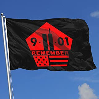Beautiful Flag for Outdoors, Remember 911 Twin Towers Decoration | Durable, Polyester