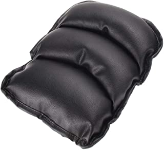 Soft PU Cushion for Vehicles cars Arm Rest Seat Box,Pad Protective Case - Black
