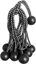 Exnemel Bungee Cord Ball, 24 stks Rubber Plastic Elastische Touw Banden, Heavy Duty Tarp Bungee Cords Tie Down Bandjes voo...