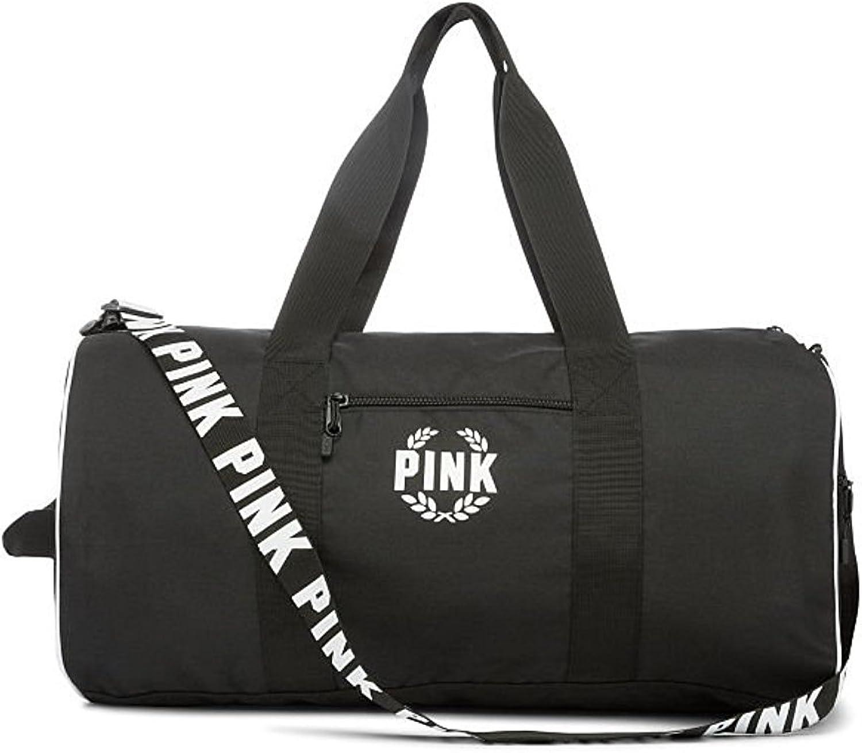 Victoria's Secret Pink New Weekender 23  Gym Duffle Bag color Black