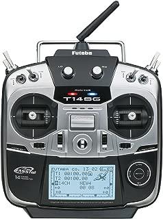 Futaba 14SGH Fourteen-Channel Two-Point-Four Gigahertz Computerized Radio Control Flight Transmitter with R7008SB FASSTest Telemetry Receiver