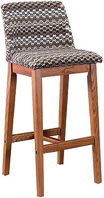 Outstanding Amazon Com Chelsea Contemporaneo Madera Tejido Barstool Andrewgaddart Wooden Chair Designs For Living Room Andrewgaddartcom