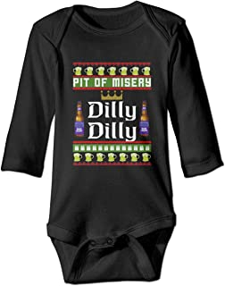 KIDDDDS Baby Bud Light Long Sleeve Romper Onesie Bodysuit Jumpsuit