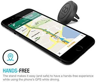 Maxboost Car Mount, [2 Pack] Universal Air Vent Magnetic Car Mounts Holder Compatible with iPhone 12 11 Pro Xs Max XR...