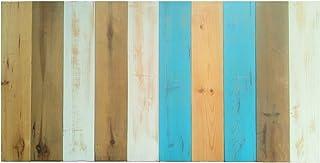 Cabecero Antiguo Recto Vertical Sam, Madera, Azul, 150x80x7cm, Incluye Kit Herrajes. Incluye Imán Personalizable de Regalo.