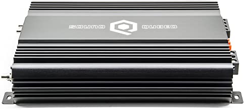 SoundQubed Q1-1200.2 1200W RMS Single-Channel (Monoblock) Class D Car Audio Amplifier with Remote Gain Control