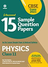 CBSE New Pattern 15 Sample Paper Physics Class 11 for 2021 Exam with reduced Syllabus