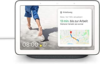 "Google Nest Hub Nest Hub, Assistant, Rectángulo, Carbón Vegetal, Blanco, 17,8 cm (7""), Android,iOS, Rango Completo"