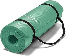 AUM High Density HD Foam Tech Yoga Exercise Mat - 72
