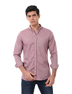 Andora Long Sleeves Solid Regular-Fit Button-Down Shirt for Men