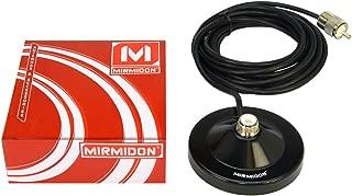 MIRMIDON BM150 Base magn/ética 15 cm RG-58 4,5 MTS PL259