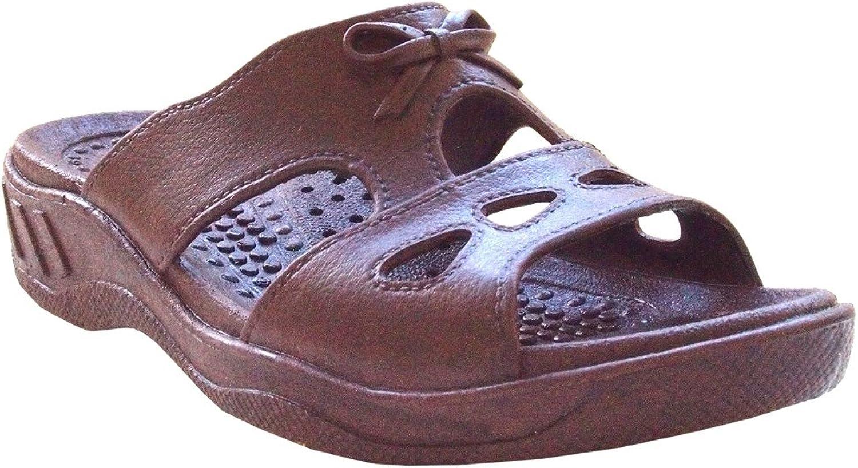 Pali Hawaii Women's Cutie Bow Rubber Sandals
