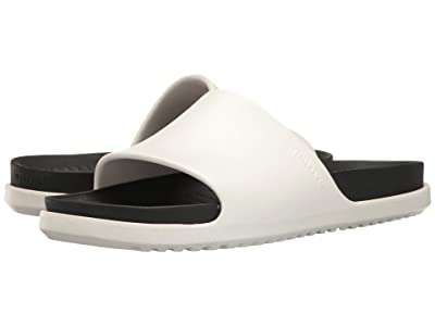 Native Shoes Spencer LX (Shell White/Jiffy Black) Sandals
