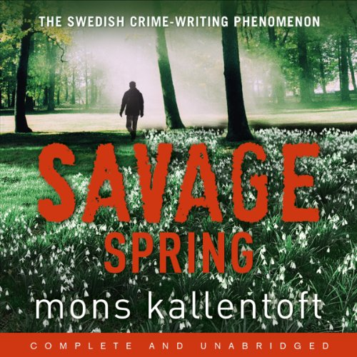 Savage Spring audiobook cover art