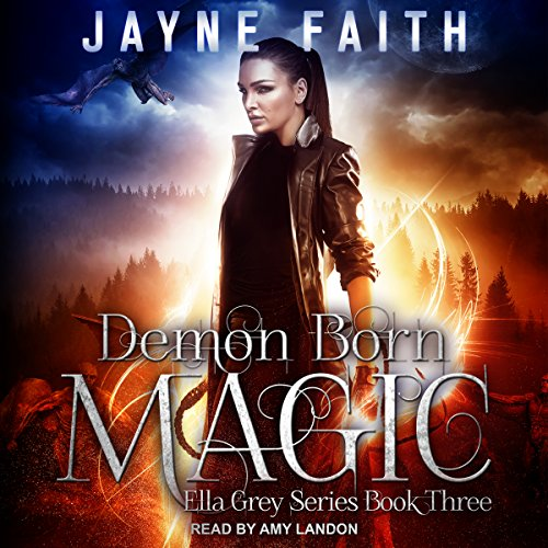 Demon Born Magic audiobook cover art
