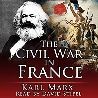 The Civil War in France audiobook cover art