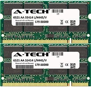 A-Tech 1GB KIT (2 x 512MB) for HP-Compaq Evo Notebook Series N1000c N1000v N1005v N1015v N1020v N1050v N610c N610V N620c N800 N800c N800S N800v N800w. SO-DIMM DDR Non-ECC PC2100 266MHz RAM Memory
