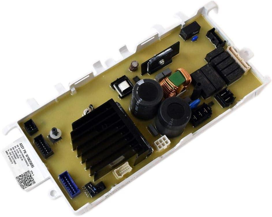 Portland Mall Whirlpool W10812424 Washer Electronic Bombing new work Orig Board Genuine Control