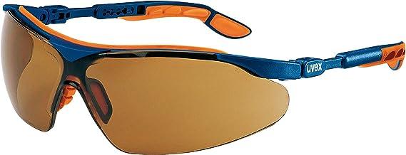 Uvex-ivo veiligheidsbril - Supravision Excellence - bruin/blauw-oranje