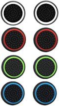 4 Pairs 8 Pcs Silicone Cap Joystick Thumb Grip Protect Cover for Ps3 Ps4 Xbox 360 Xbox One Wii U Game Controllers