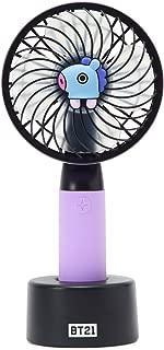 LINE FRIENDS BT21 Official Merchandise MANG Character Mini Handheld Personal Portable Fan