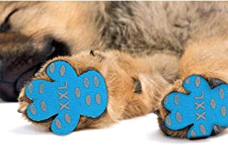 New168 Dog Paw Pad Dog Paw Protector Anti-Slip Traction Pads Disposable Self Adhesive Dog Shoes Alternative Replacement to Keeps Dogs