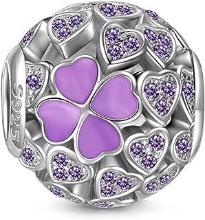 Best pandora charm purple hearts Reviews