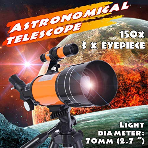 Buy Bargain HLL Professional HD Astronomical Telescope Outdoor Night Vision Deep Space Star View Moon View 150X Monocular Telescope