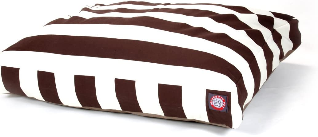 New York Mall Majestic Pet Chocolate Vertical Small Rectangle Bed Wholesale Stripe