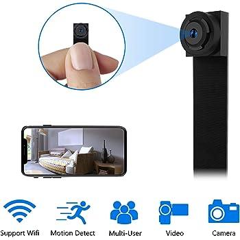 Mini Camara Espia Oculta,UYIKOO 1080P Mini WiFi Camara Espia de ...
