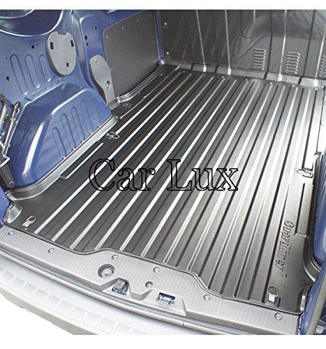 Car Lux AR04308 - Alfombra Bandeja Cubeta Protector Maletero