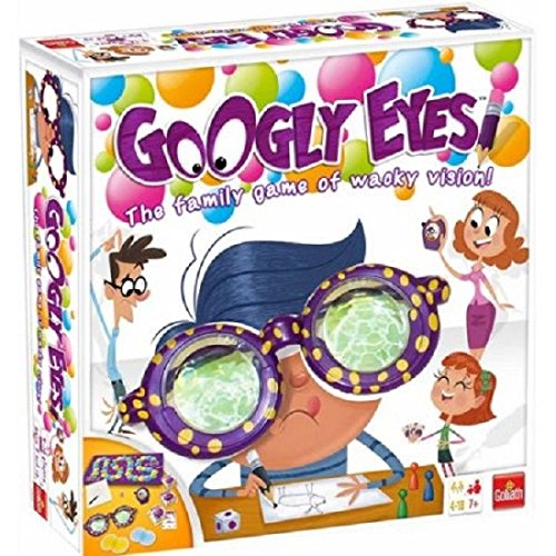 Googly Eyes Game Family Drawing Board Game Crazy Vision-Altering Glasses Draw supplier:sanhern