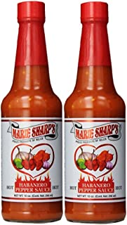 Marie Sharp's Hot Sauce 10 Fl. Oz. (Pack of 2)