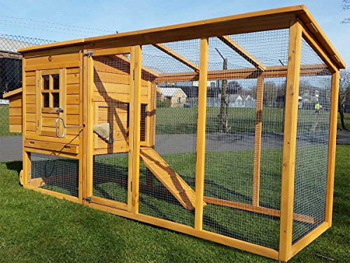 8FT COCOON CHICKEN COOP FOR 5-8 BIRDS HEN HOUSE POULTRY ARK NEST BOX NEW -...