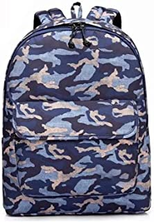 PANFU-AU Youth Leisure Backpack,Water Resistant Big Business Backpack Male Business Backpack 12 Inch Laptops Notebook Bag,Extra Large Computer Rucksack Anti Theft Backpack, (Color : Blue)