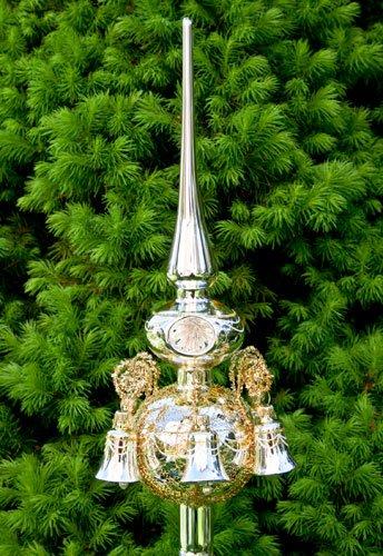 Lauschaer Glaskunst-Christbaumspitzen Christbaumspitze Old Lauscha (Gold)