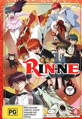 Rin-Ne Complete Season 1 (Import版) - 境界のRINNE 第1シーズン コンプリート DVD-BOX (1-25話, 625分) アニメ きょうかいのりんね 高橋留美子 [DVD] [Import] [PAL, 再生環境をご確認ください]の拡大画像