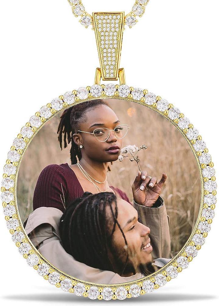 YIMERAIRE Custom 推奨 Picture Necklace Jewelry Men Personalized Neckl 売れ筋