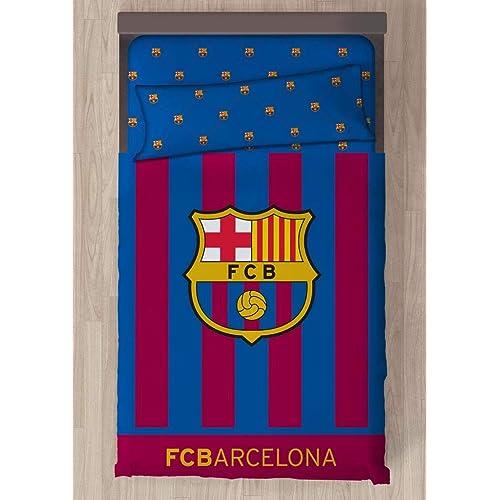 Carbotex Juego DE SÁBANAS F.C. Barcelona Escudo CENTRADO (150) efb8c5d1c73