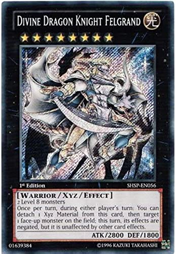 Yu Gi-Oh  shsp-en056  Ed Divine Dragon Knight felGründ Ghost Rare Karte (Shadow Specters Yu-Gi-Oh. Single Karte)