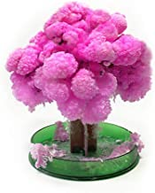 HYXJ Crystal Growing Tree Magic Cherry Tree Presents Novelty Kit for Kids Funny Educational Gifts and Party Toys