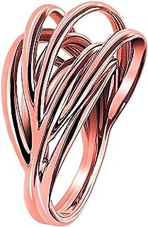 Calvin Klein Crisp Ring Crisp Pvd Po For women