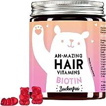Bears with Benefits - Biotin Gummibärchen ohne Zucker, Hochdosiert (5.000 mcg) - Haar Vitamine für Haare, Haut & Nägel, mi...