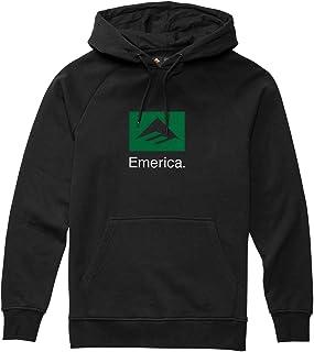 Emerica Brand Combo Pullover Hoody Medium Black 海外卖家直邮