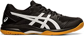 ASICS Gel-Rocket 9 Men's Volleyball Shoes, Black/White, 9 M US