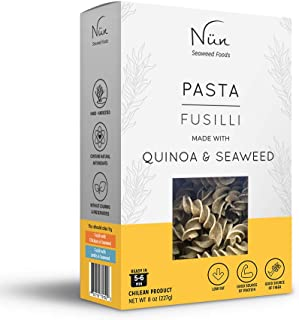 Nun Pasta Pack – Seaweed Pasta – 8 oz – Legume and Grain Pasta Variety Pack – Sustainably Made Pasta with Chilean Seaweed ...