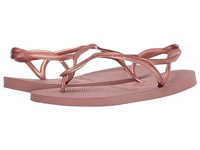 Havaianas Luna Flip Flops (Crocus Rose) Women
